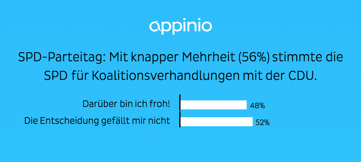 SPD Parteitag GroKo