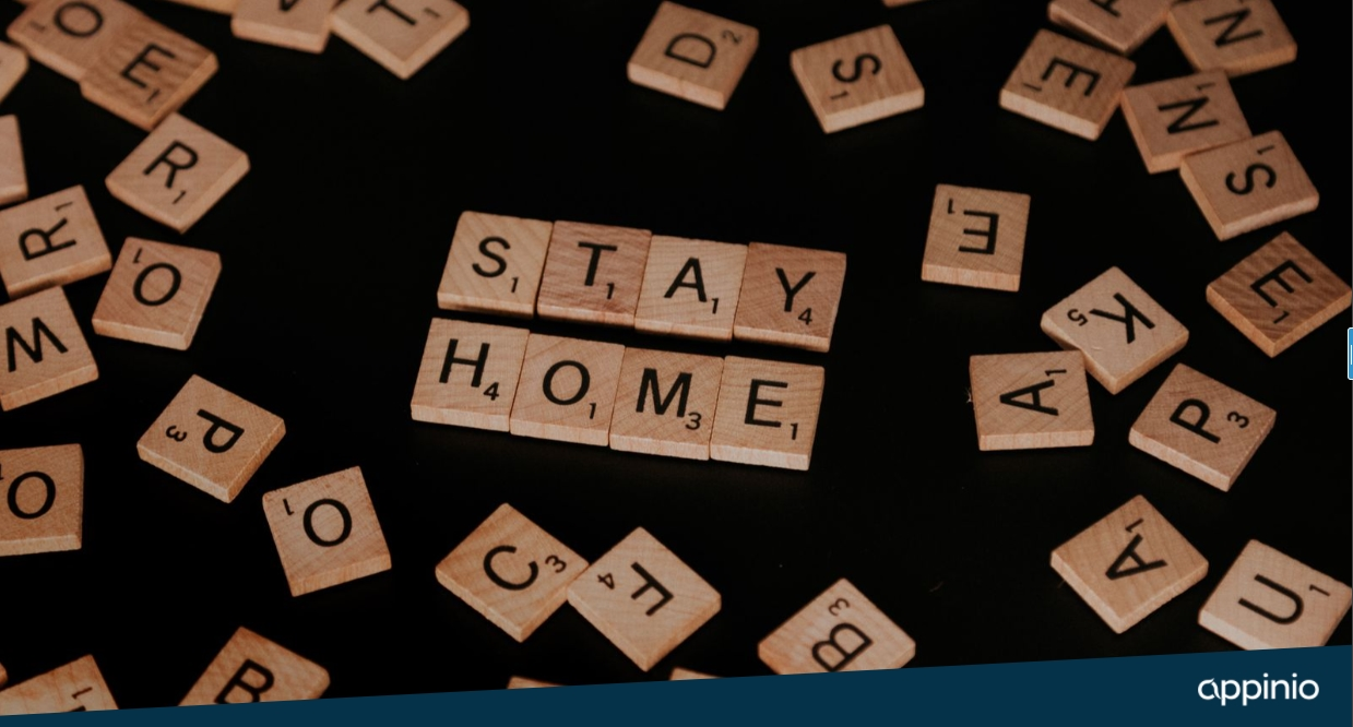 Appinio Stay Home Header
