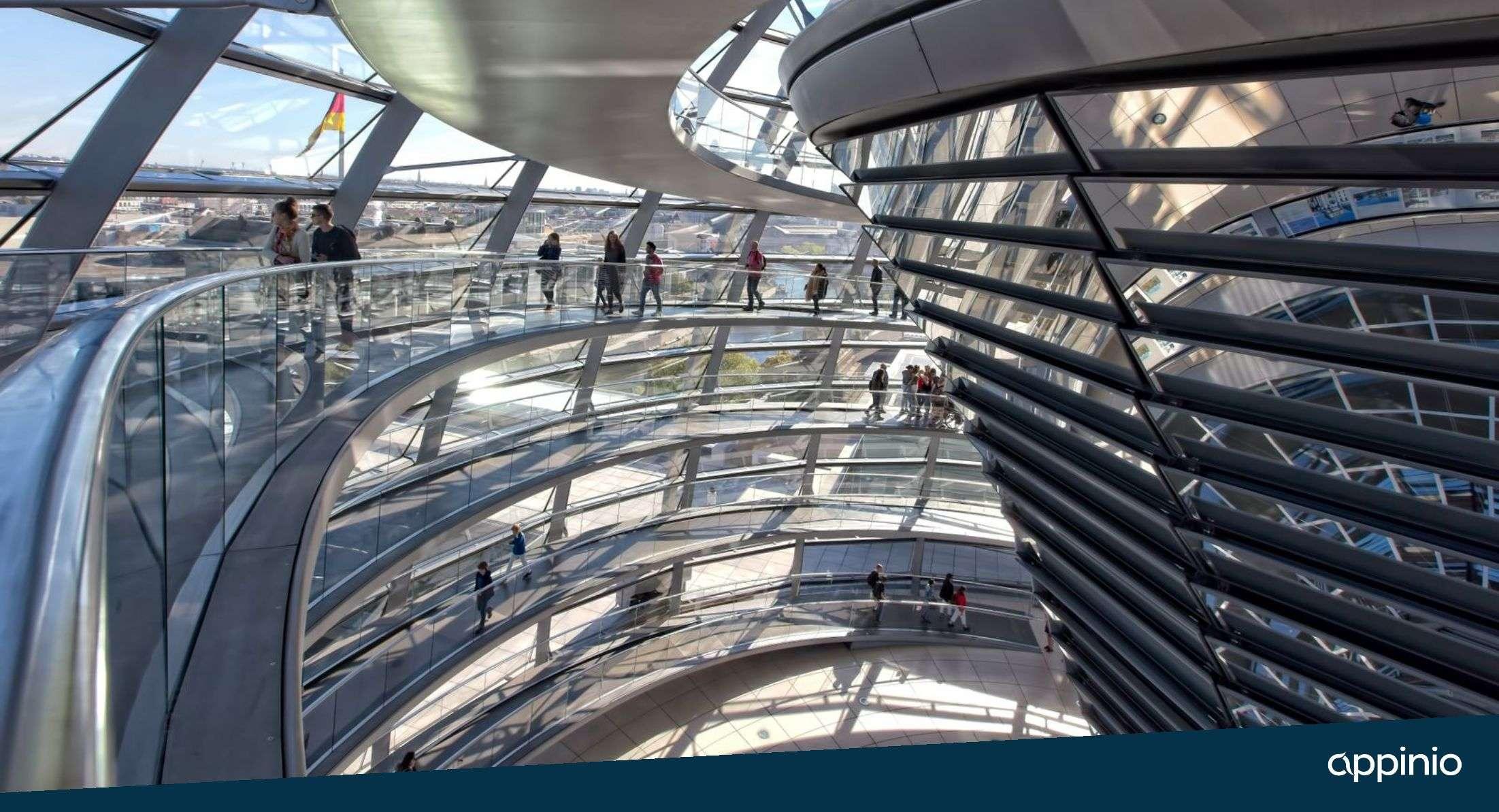 Innenansicht Deutscher Bundestag